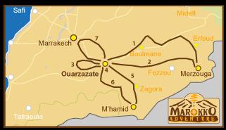 Marokko-routekaart-2014
