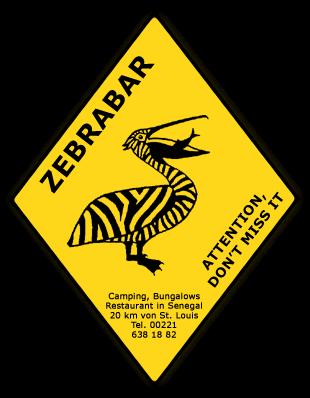 Aangekomen bij de Zebrabar in St. Louis