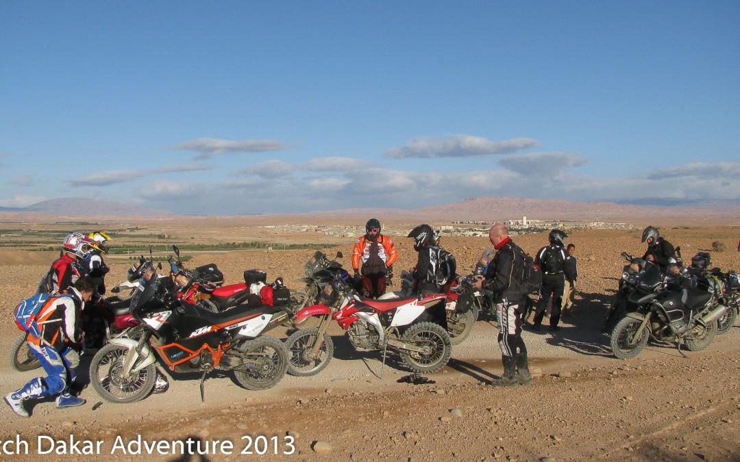 Zaterdag 9 november: Speciale trainingsdag voor Marokko Adventure maart 2014.